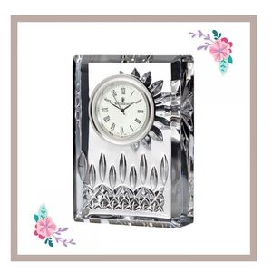 Waterford Crystal Clock Lismore Battery Gift